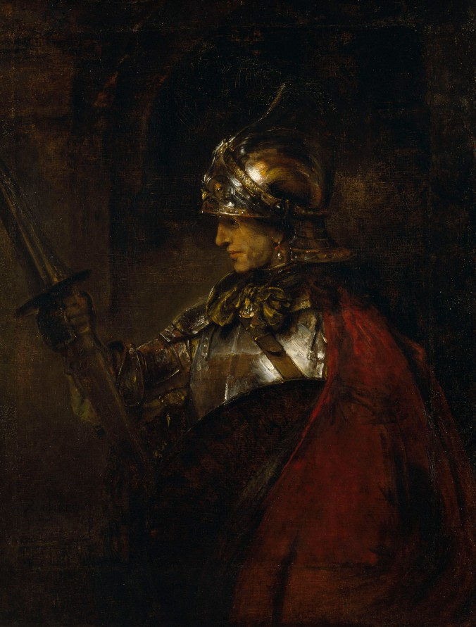 Rembrandt_Man_in_Armour